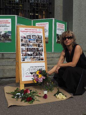 June 2020: Animal Memorial in Prague