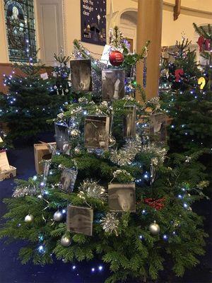December 2015: Christmas Tree of Love, Edinburgh